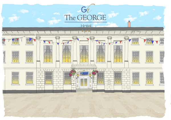 Sister Hotel: The George Hotel in Lichfield