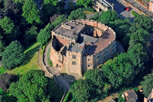 Tamworth Castle with Moor Hall Hotel Spa