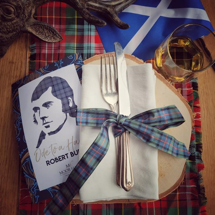 Burns Night Table Small