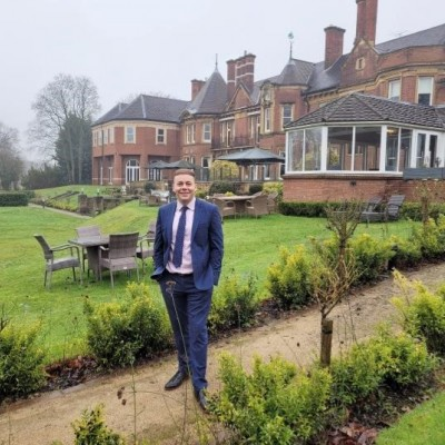 Mark Medley General Manager of Moor Hall Hotel Spa SMALL