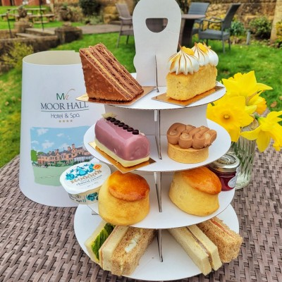 Spring Afternoon Tea to Takeaway Moor Hall Hotel Spa Sutton Coldfield