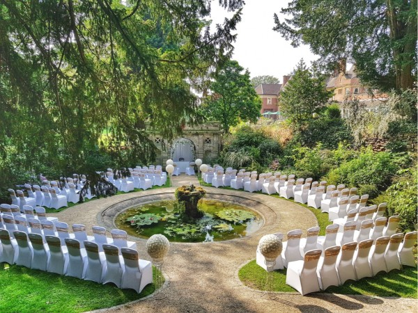 Outdoor Civil Ceremony at Moor Hall Hotel & Spa