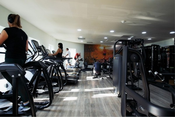 Gym at Moor Hall Hotel & Spa