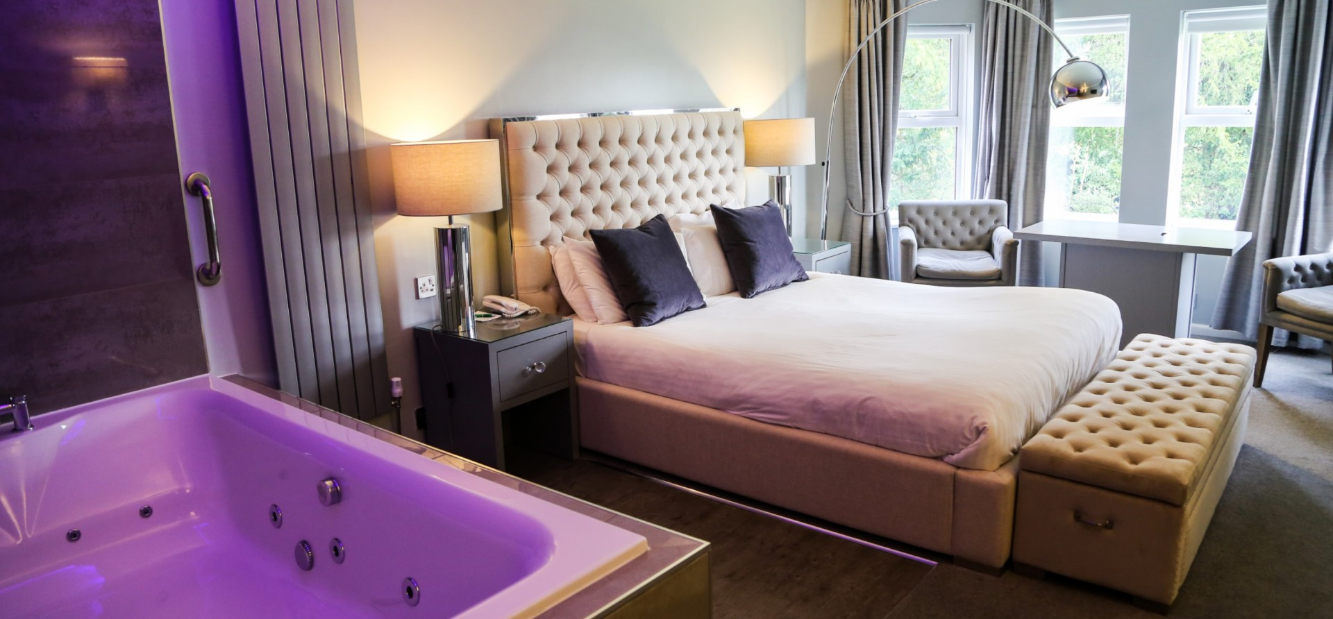 Deluxe Rooms Country House Moor Hall Hotel Spa